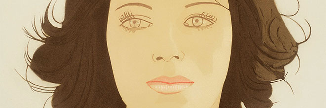 Buy original art of the American painter Alex Katz (Pop Art) at our gallery.