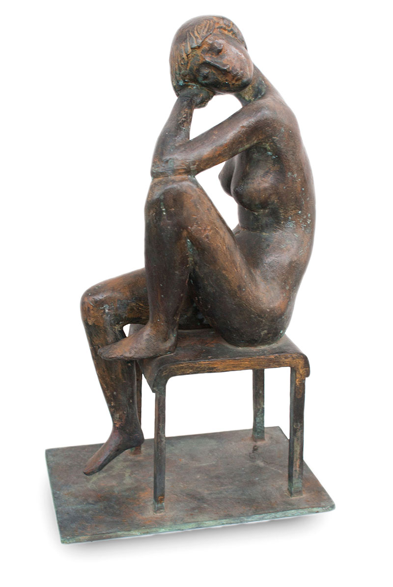 """Buy the original sculpture """"Italian journey"""" by Karl-Heinz Krause (Sculptor) at our gallery."""
