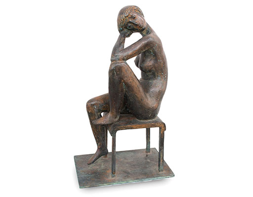 """Buy the original sculpture """"Italian journey"""" (large) by Karl-Heinz Krause (Sculptor) at our gallery."""
