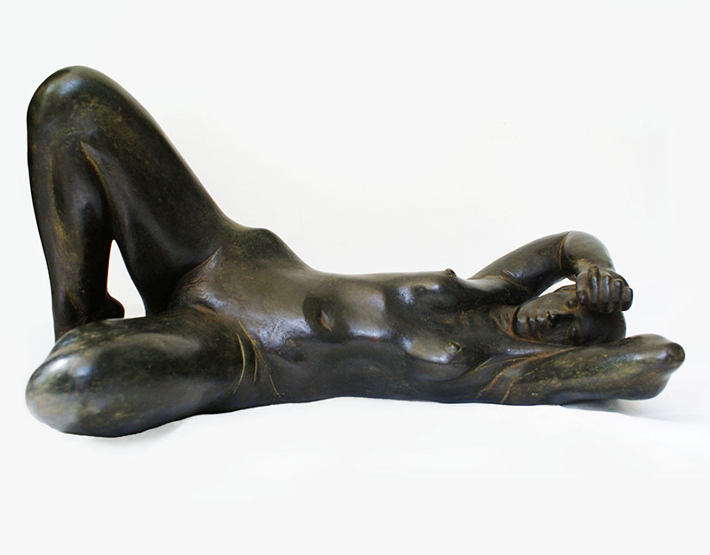 """Buy the original sculpture """"La Montagna"""" by Karl-Heinz Krause (Sculptor) at our gallery."""