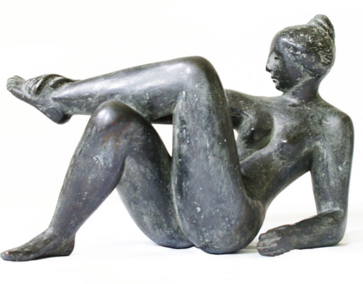 "Buy the original sculpture ""Ozeanide"" (large) by Karl-Heinz Krause (Sculptor) at our gallery."