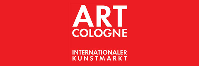 Our art gallery is exhibiting at the art fair Art Cologne (April 10 to 14, 2019).