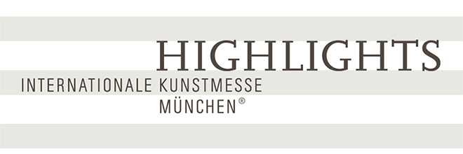 Our art gallery is exhibiting at the art fair Munich Highlights (October 15 to 20, 2019).