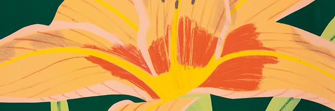 Buy original art of the American painter Alex Katz (Pop Art) at our gallery.