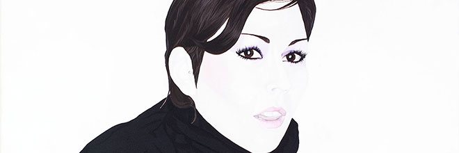 Buy original art of the Swiss painter Charlotte Hopkins Hall (Contemporary Pop Art) at our gallery.