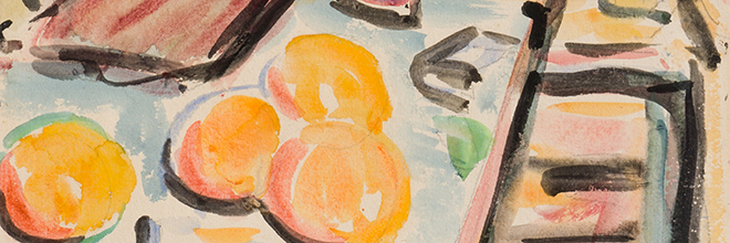 Buy original art of the German painter Erich Heckel (Expressionism) at our gallery.