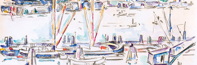 Buy original art of the German painter Ivo Hauptmann (Expressionism) at our gallery.