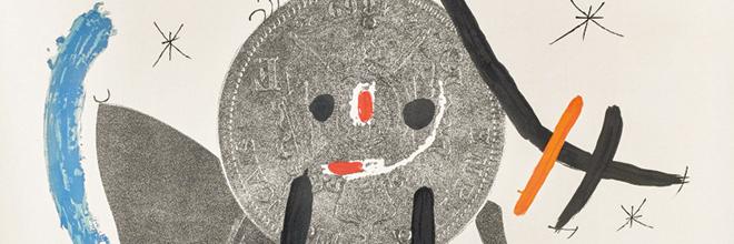 Buy original art of the Spanish painter Joan Miró (Surrealism, Dada) at our gallery.