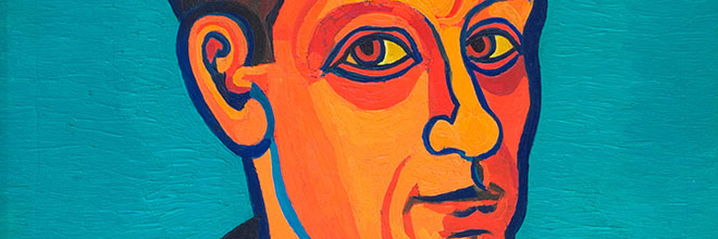 Buy original art of the German painter Josef Scharl (Expressionism) at our gallery.