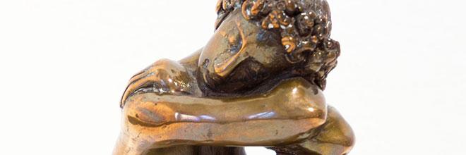Buy original art of the German sculptor Karl-Heinz Krause at our gallery.