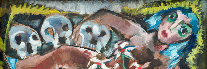 Buy original art of the German painter Werner Scholz (Expressionism) at our gallery.
